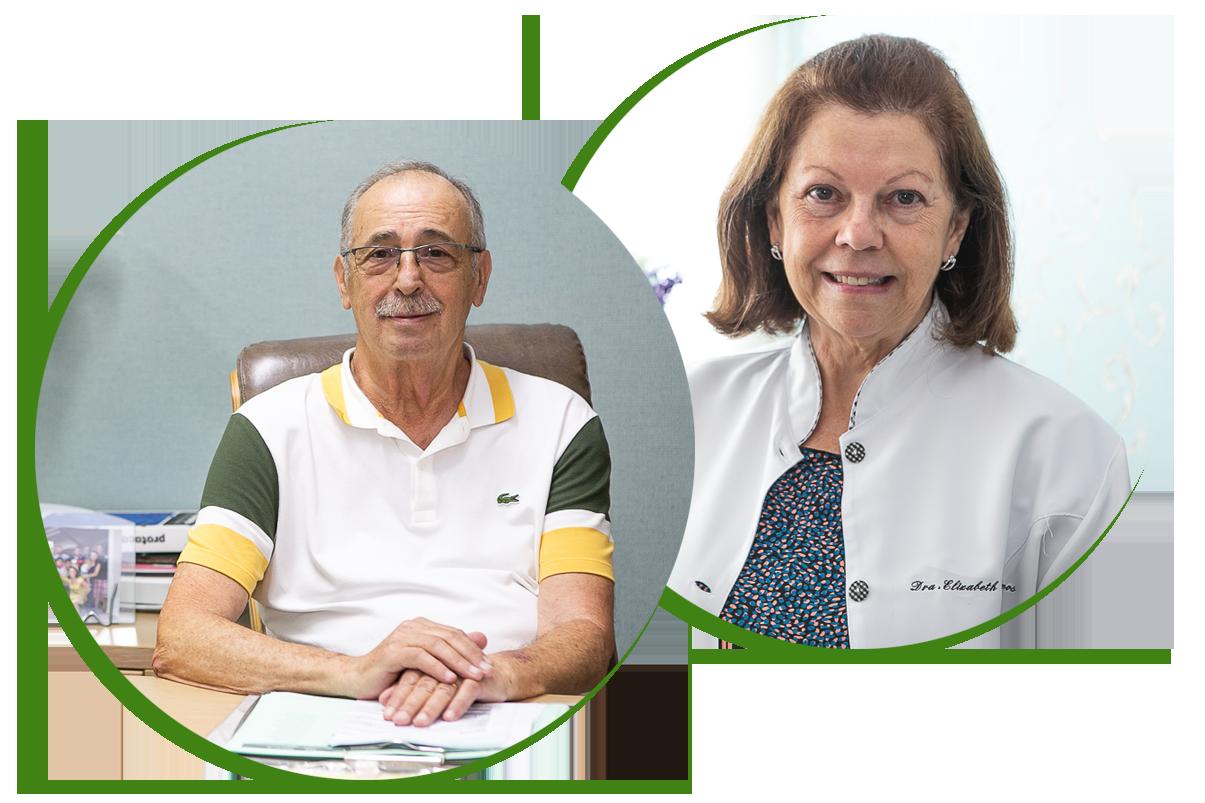 Dr. Jairo Montanari Ramos e Dra. Elizabeth Margatho Ramos